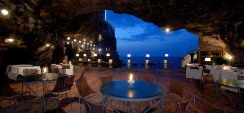 Italy's cave restaurant