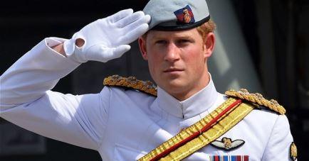 Prince Harry seen at Sydney Navy celebrations