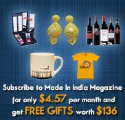 Subscribe Made in india Magazine