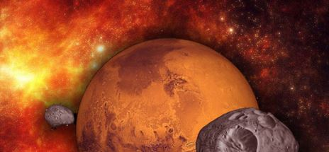 FORGET THE MOON. NEXT STOP: MARS!