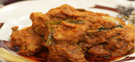 Spicy Chicken Rendang