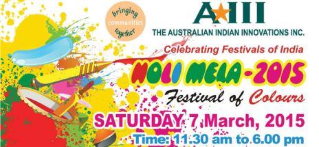 AIII Holi Fair 2015