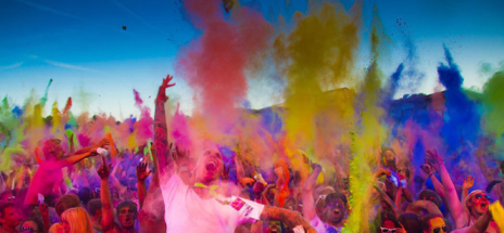 SAYING HELLO TO 'HOLI' MARCH