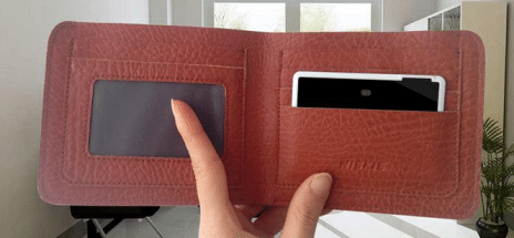 HOW ABOUT A BLUETOOTH WALLET?