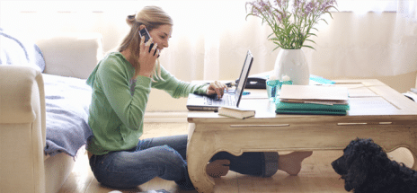 3 BENEFITS OF WORKING FROM HOME