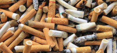 AUSTRALIAN SCIENTIST FINDS A NEW WAY OF TURNING CIGARETTE BUTTS INTO BRICKS