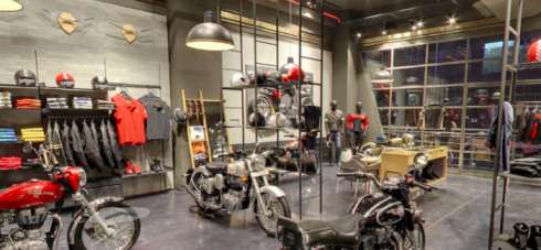 ROYAL ENFIELD STORE OPENS IN MELBOURNE