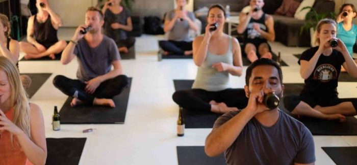 ALL YOU NEED TO KNOW ABOUT BEER YOGA