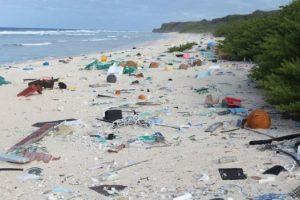 Henderson Island_HIGH LEVELS OF PLASTIC RUBBISH