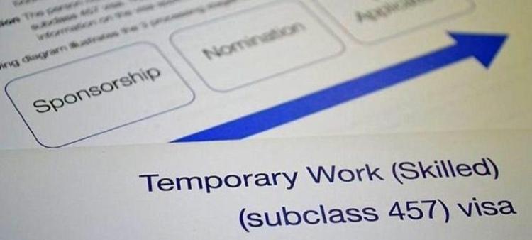 Australian Temporary Work Skilled 457 Visa