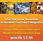 Indian magazine e-newsletter