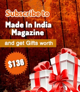 Subscribe to Made in India Magazine