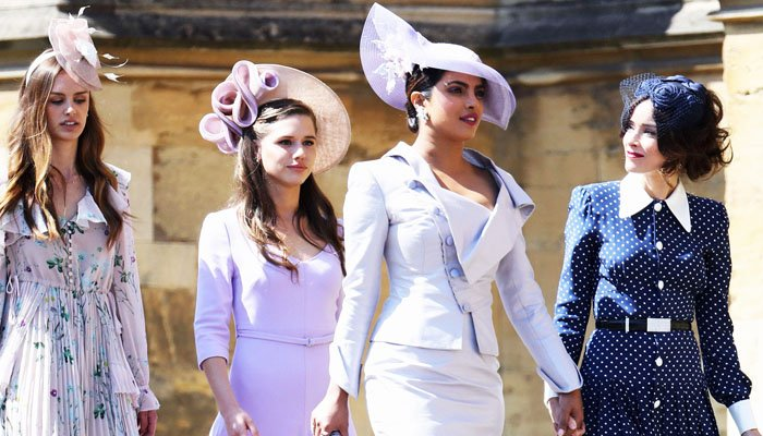 Priyanka Chopra at the Royal Wedding