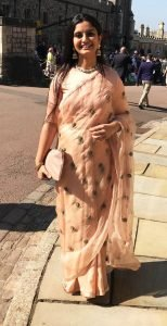Suhani Jalota at the Royal Wedding