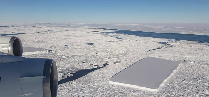 NASA Releases Pictures Of Perfect Rectangular Iceberg