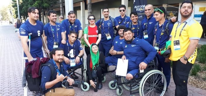 Members of the Invictus Games Afghanistan Team Decide To Stay Back In Sydney