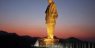 Statue of Unity Indian - Tallest Statues in the World