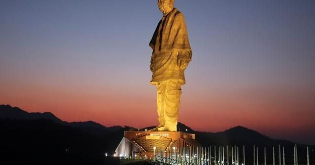 Statue of Unity Indian – Tallest Statues in the World 2018