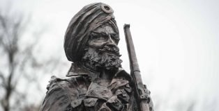 LIONS OF THE GREAT WAR STATUE: A TRIBUTE TO INDIAN SIKH SOLDIERS