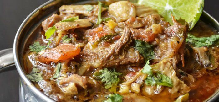 The Regal Dish – Kadhai Gosht