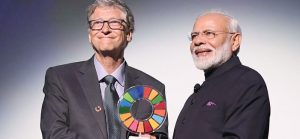 Modi With Bill Gates