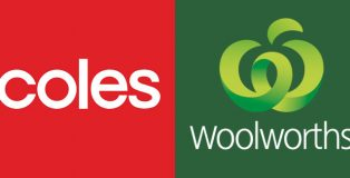 Woolworths and Coles