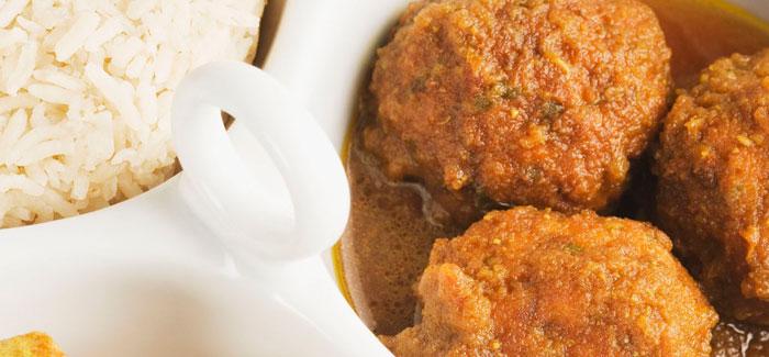 Indian Fish Kofta Curry