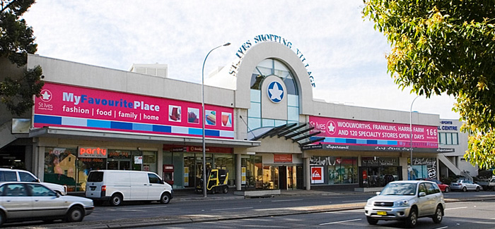 St Ives Shopping Centre